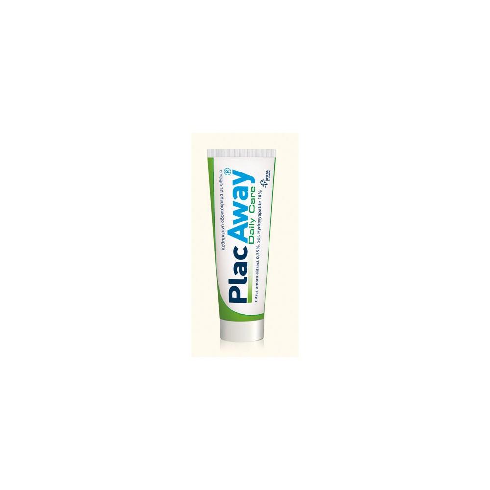OMEGA PHARMA - Plac Away Daily Care toothpaste, 75ml