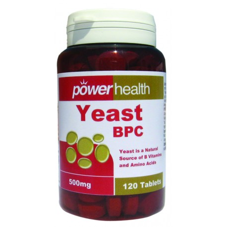 POWER HEALTH - Power Yeast, tabs 120s