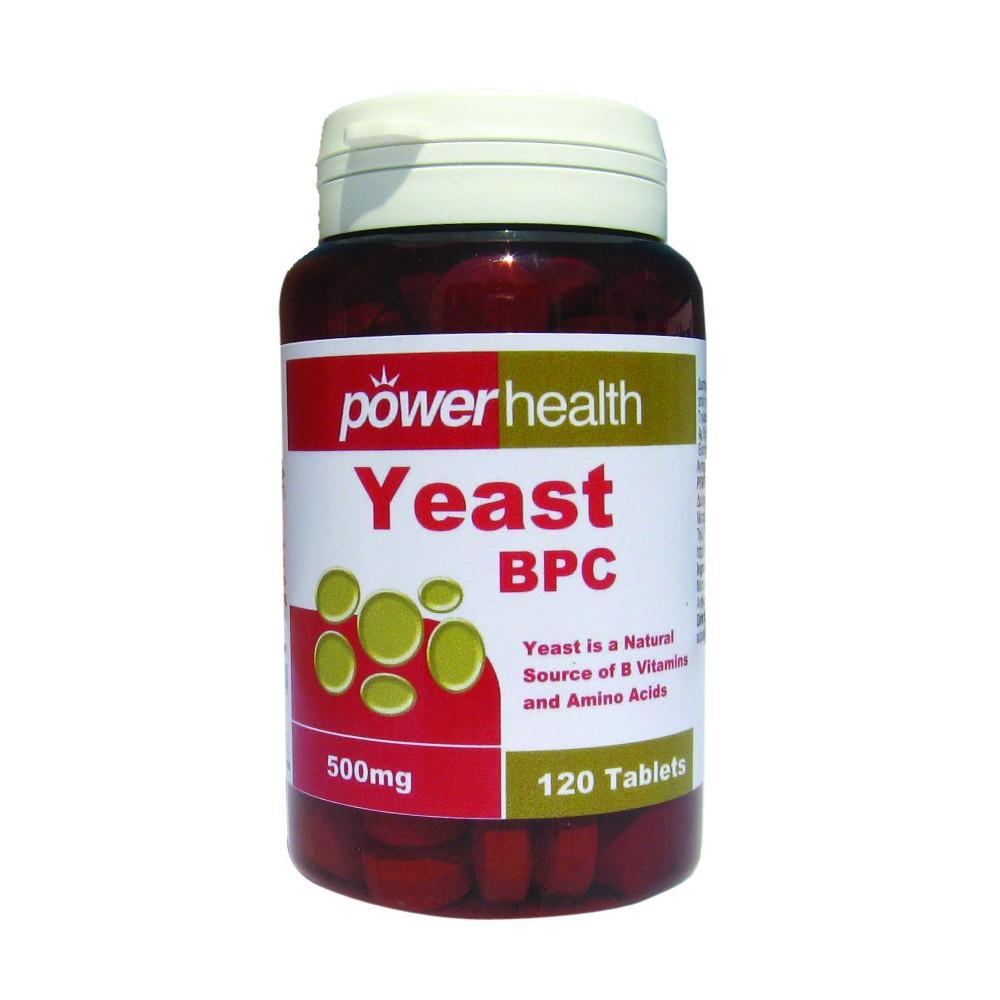 POWER HEALTH - Power Yeast, tabs 120s