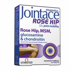 Vitabiotics - JOINTACE Rose Hip, MSM, 30 tabs