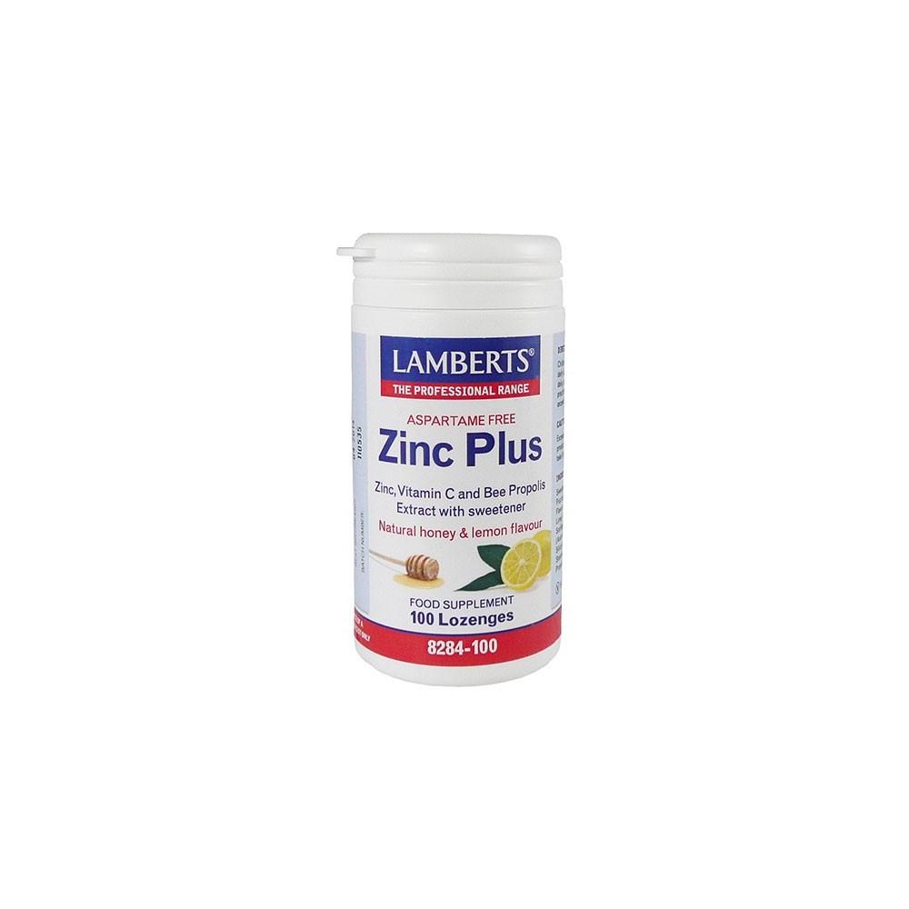 Lamberts - Zinc Plus Lozenges, 100 Iozenges