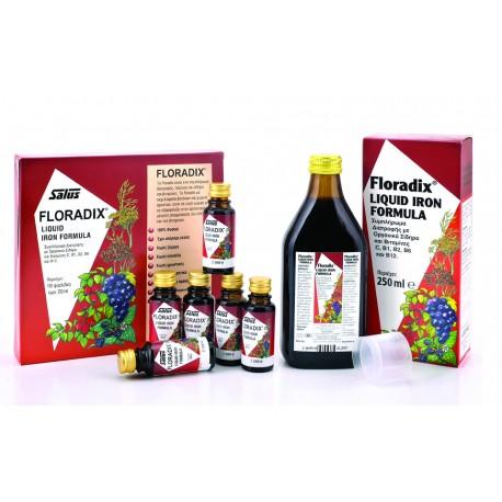 POWER HEALTH - Floradix, 10 x 20 ml