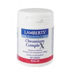 Lamberts Chromium Complex 200μg 60tabs
