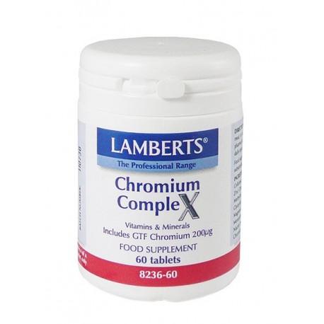 Lamberts - Chromium Complex, 60 Tabs