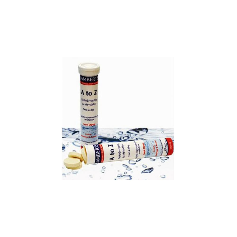 Lamberts - A-Z Multi Vitamin, 20 αναβράζοντα δισκία