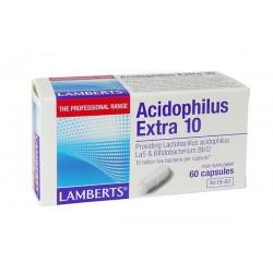 Lamberts - Acidophilus Extra 10 (Milk Free), 60 Caps