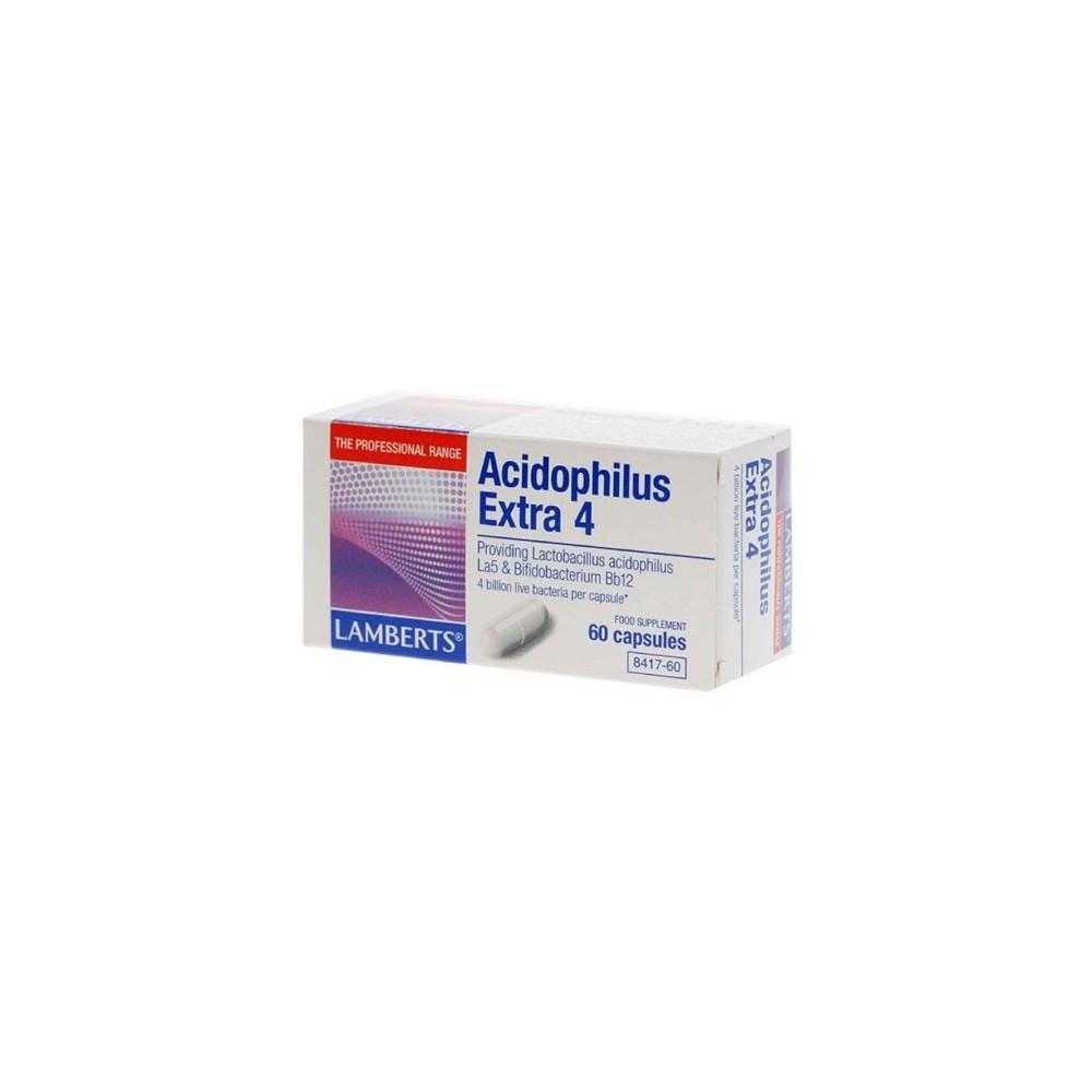 Lamberts - Acidophilus Extra 4 (Milk Free), 60 Caps