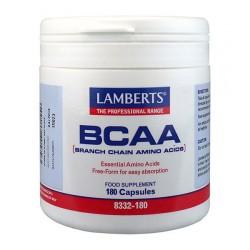 Lamberts - BCAA (Branch Chain Amino Acids), 180 Caps