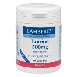 Lamberts - TAURINE 500MG, 60CAPS