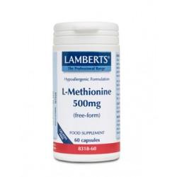 Lamberts -  L-METHIONINE 500MG, 60 CAPS