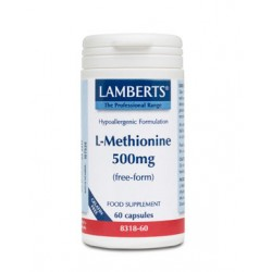 Lamberts - L-METHIONINE 500MG, 60 CAPS