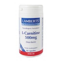 Lamberts L-Carnitine 500mg 60caps