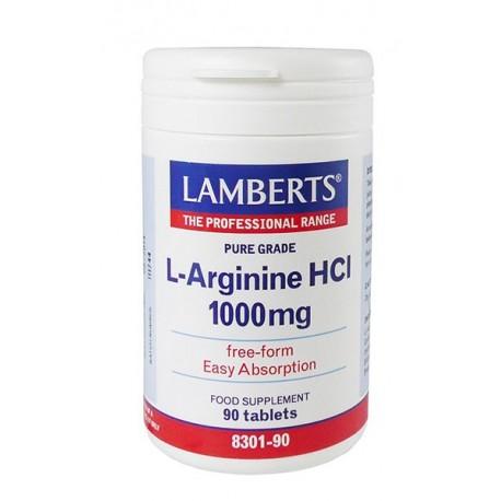 Lamberts - L-Arginine 1000mg, 90 Tabs