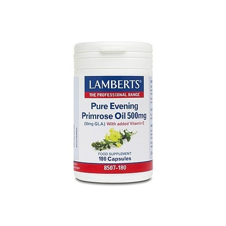 Lamberts - Pure Evening Primrose Oil 500mg, 180 caps