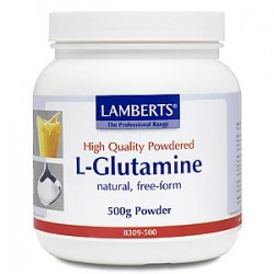 Lamberts - L-Glutamine Powder, 500gr