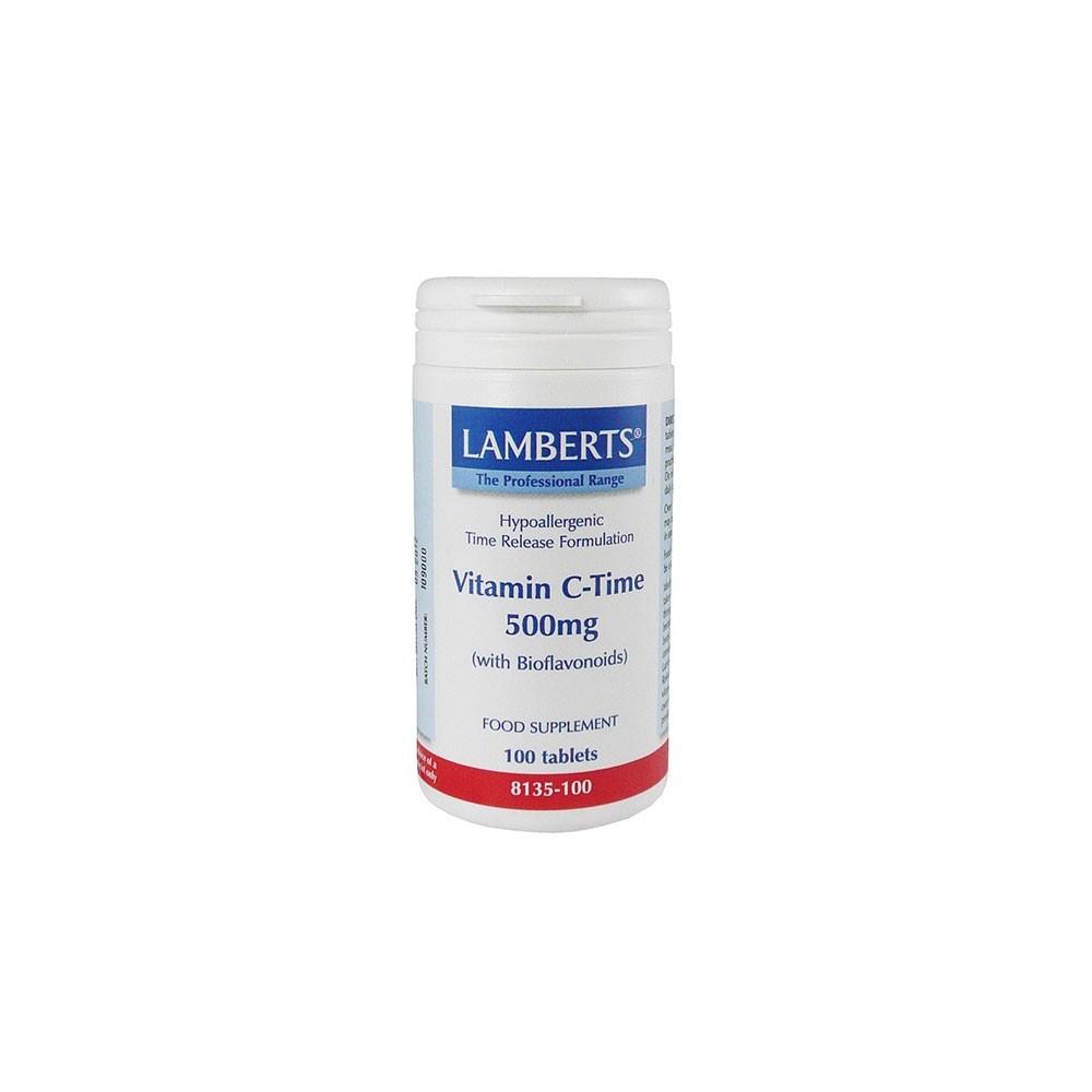 Lamberts - C-500 Mg T/R, 100Tabs