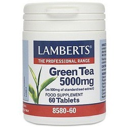 Lamberts - GREEN TEA 5000 MG, 60 TABS