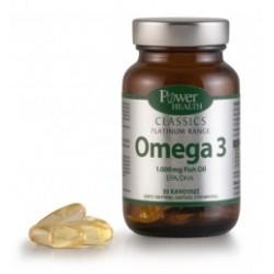 POWER HEALTH - Classics Platinum Range Omega 3 1.000 Fish Oil – EPA/DHA, 30 caps