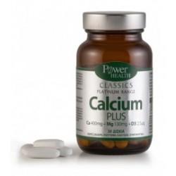 POWER HEALTH - Classics Platinum Range Calcium Plus, 60 caps