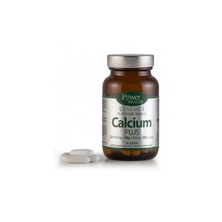 POWER HEALTH - Classics Platinum Range Calcium Plus, 60 caps