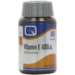Quest - VITAMIN E 400IU MIXED TOCOPHEROLS, 60CAPS