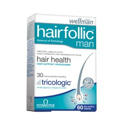 Vitabiotics Wellman HairFollic Man 60tabs