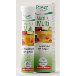 POWER HEALTH - Multi + Multi, αναβράζοντα 20s