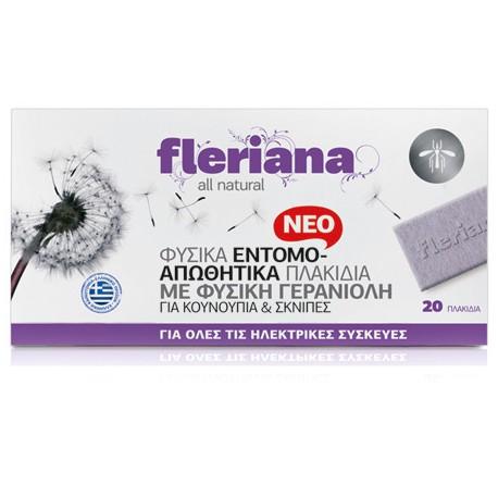 POWER HEALTH - Fleriana Εντομοαπωθητικά Πλακίδια, 20τμχ.