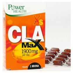 POWER HEALTH - Xs CLA Max 1900mg, 60 κάψουλες