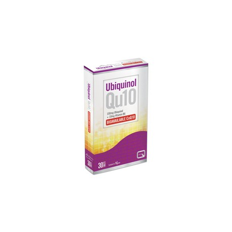 Quest - Ubiquinol 100mg Qu10, 30 TABS
