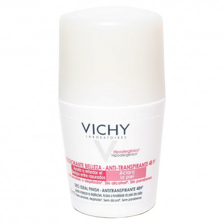 Vichy Deodorant Αποσμητικό Deo Ideal Finish 48h 50ml