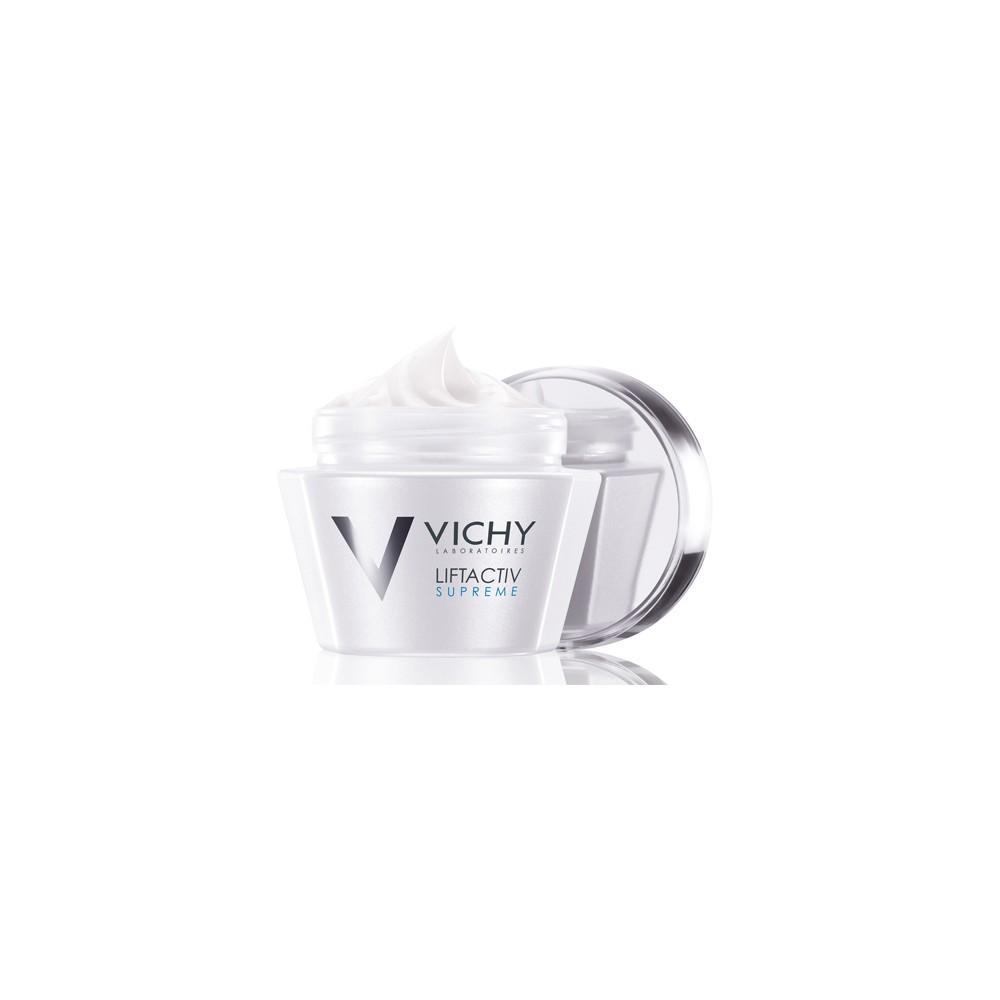 VICHY LIFTACTIV Supreme, Αντιρυτιδική κρέμα προσώπου για Ξηρές-Πολύ ξηρές επιδερμίδες, 50ml