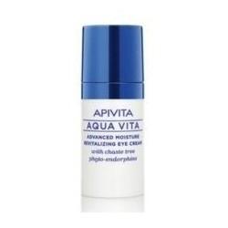 APIVITA - AQUA VITA Κρέμα Ματιών Εντατικής Ενυδάτωσης και Αναζωογόνησης 15ml