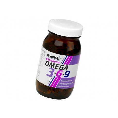 HEALTH AID - OMEGA 3-6-9 1155mg, 60 caps [CLONE]