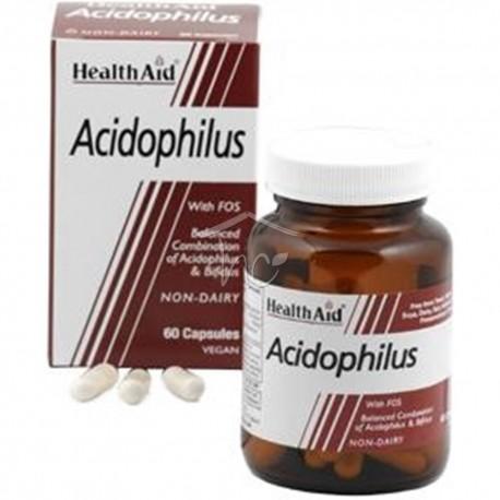 HEALTH AID - Balanced Acidophilus, 60s vegetarian capsules