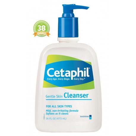 CETAPHIL Gentle Skin Cleanser Απαλό Καθαριστικό Προσώπου, 473ml