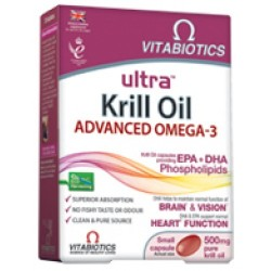 Vitabiotics Ultra Krill Oil 500mg 30caps