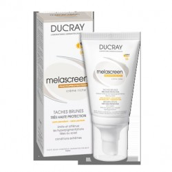 DUCRAY Melascreen Photoprotection Rich Cream SPF 50+ UVA, 40ml