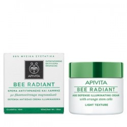 APIVITA - Bee Radiant Κρέμα Αντιγήρανσης και Λάμψης - Ελαφριάς Υφής 50ml