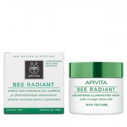 APIVITA - Bee Radiant Κρέμα Αντιγήρανσης και Λάμψης - Πλούσιας Υφής 50ml