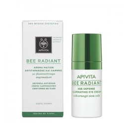 APIVITA - Bee Radiant Κρέμα Ματιών Αντιγήρανσης και Λάμψης 15ml