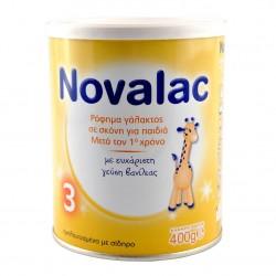 Novalac 3 Γάλα 3ης Βρεφικής Ηλικίας Γεύση Βανίλια 400gr