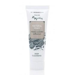 Korres Μάσκα Natural Clay με Άργιλο για Βαθύ Καθαρισμό 18ml