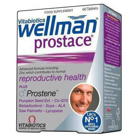 Vitabiotics - Wellman Prostace 60tabs