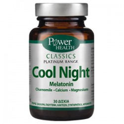 POWER HEALTH - Classics Platinum Range, Cool Night 30 caps