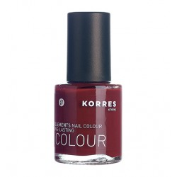 KORRES - NAILS MYRRH & OLIGOELEMENTS NAIL COLOUR (37 SHADES), 11mL - DEEP RED