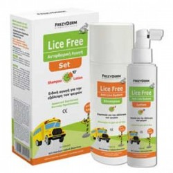 FREZYDERM LICE FREE SET (L.F.SH+L.F.LOT 2*125ml)