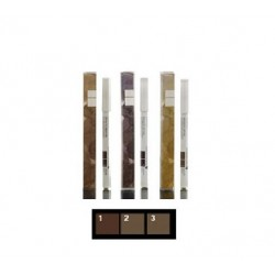 KORRES - EYES ΕYEBROW PENCIL Cedar wood pencil (3 SHADES), 1,29mL - 01 DARK SHADE