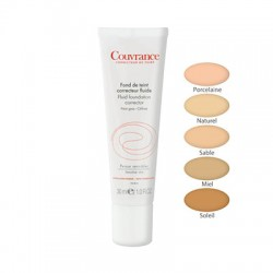 Avene Couvrance Fluid Foundation Corrector SPF15 01 Porcelain Tube 30ml