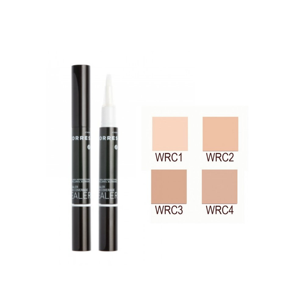 KORRES - MAKE UP WILD ROSE CONCEALER Brightening / high coverage, 1,50mL - WRC2